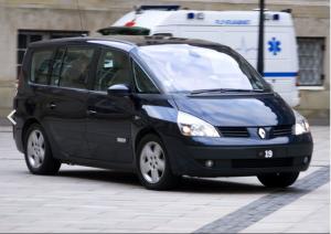 Hyra minibuss Renault Espace IV